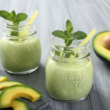 Kourtney Kardashian's #avocadomilk. The perfect breakfast for on-the-go. http://www.garterandgroom.com/avocados-for-breakfast/