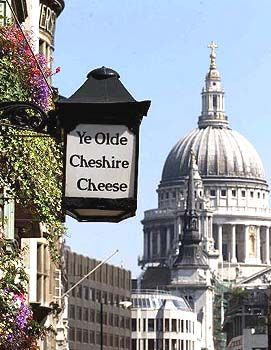 Rebuilt in 1667 after The Great Fire of London - Ye Olde Cheshire Cheese is one of London's oldest pubs. The original pub was built in 1553.