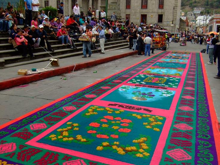 Semana Santa in Xela, Guatemala, april 2011