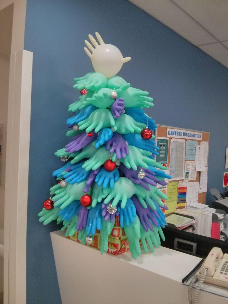árvores de Natal improvisadas criativas
