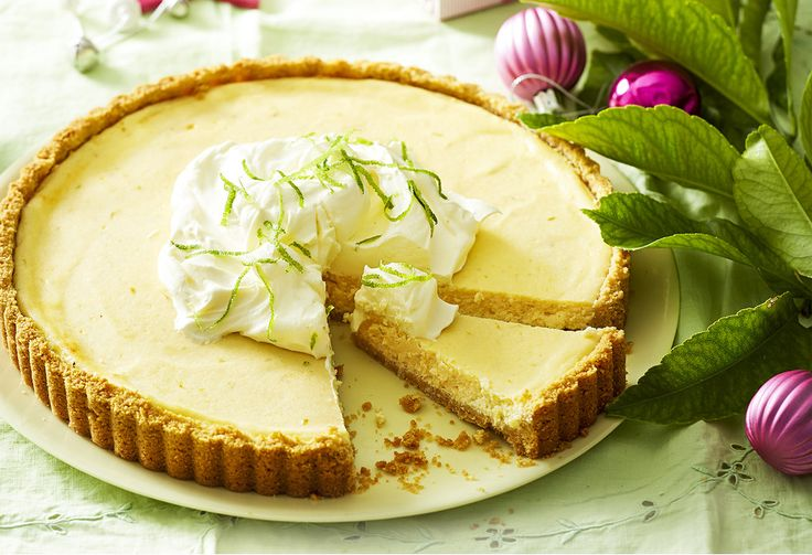 Inspired by the classic pie from Florida, this tart swaps Key limes for more the readily available variety, but still uses the classic condensed milk filling.