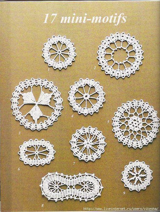 Bruges crochet patterns