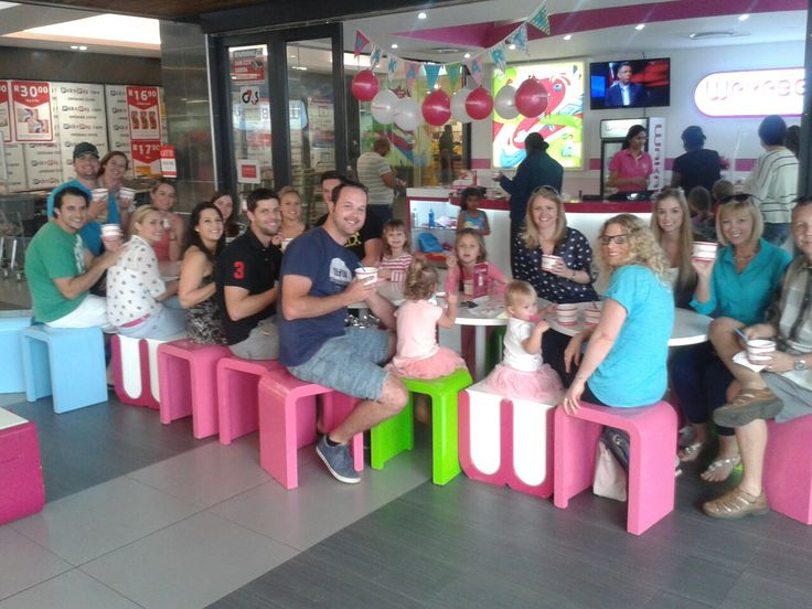 You are never too old to have your party at Wakaberry! Marc celebrated his 28th birthday at Wakaberry Westville on the weekend.