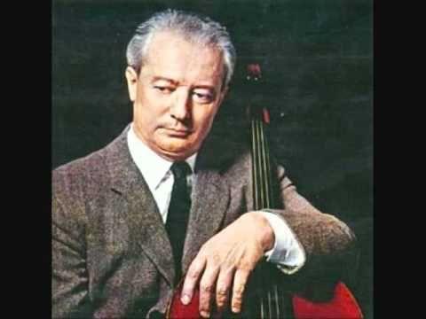 """Pierre Fournier """"Élégie""""  Fauré"""