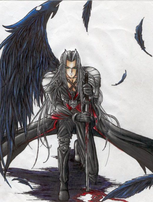 Sephiroth Wing 78 Best images ...