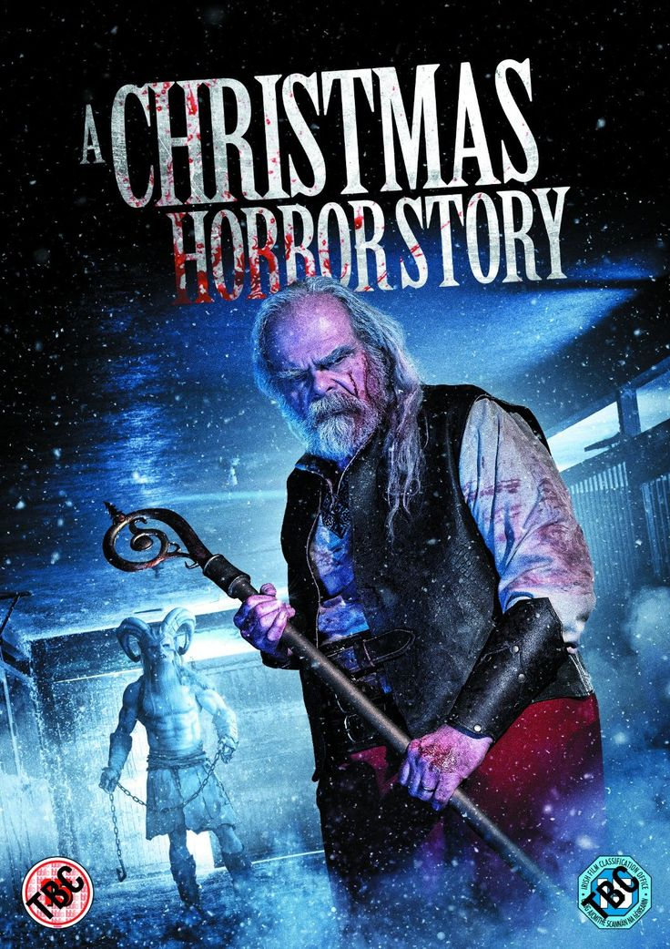 A Christmas Horror Story (2015) is a Canadian horror anthology starring William Shatner!