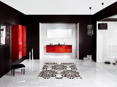 Bathroom Red 38 best bathroom ideas images on pinterest | room, architecture