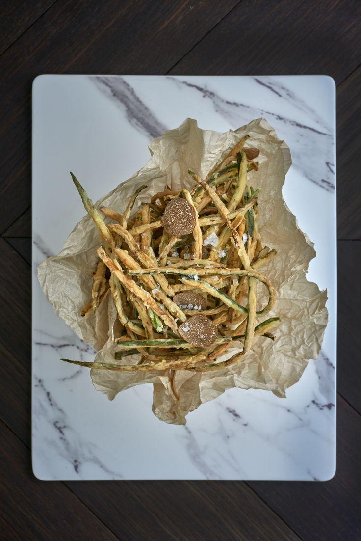 Zucchini fritti at Sartoria on Savile Row
