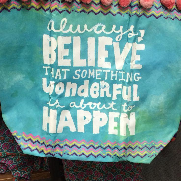 Always believe that something wonderful is about to happen. Crédit photo Instagram @voyagesetgourmandises