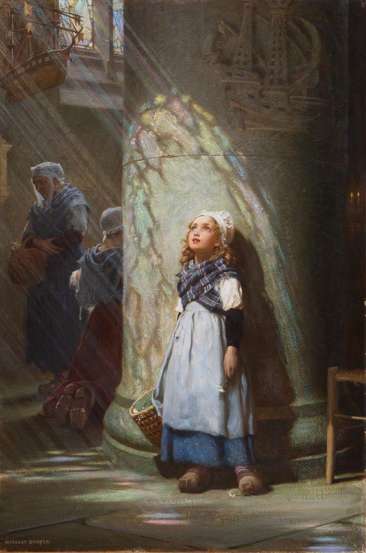 Herbert Draper - Heaven lies about us in our infancy