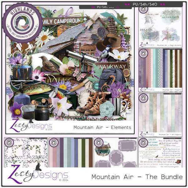 Collections :: Coordinated Collections :: Highlands :: Mountain Air - The Bundle