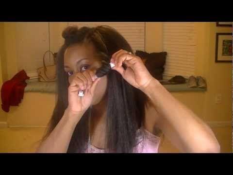 Kanekalon Crochet Braids (Step by Step) - YouTube