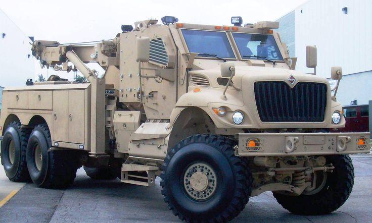 Navistar MaxxPro Recovery Vehicle PK.