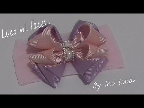 Como fazer laço mil faces parte 1 Diy ,Tutorial ,Pap By Iris Lima How To Make a Hair Bow - YouTube