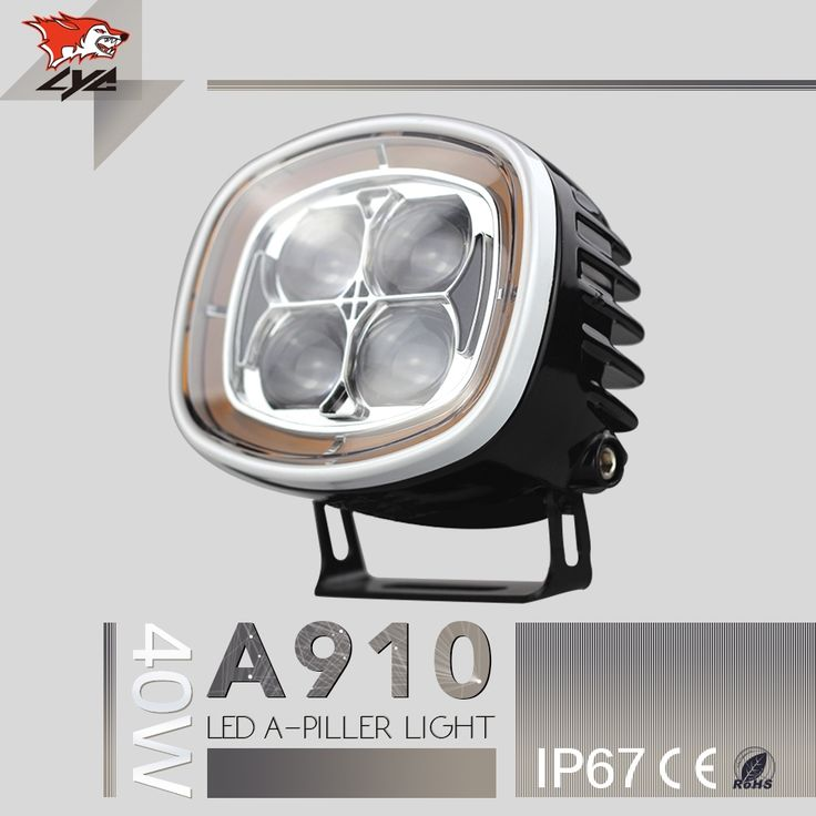132.22$  Watch here - http://aliorb.worldwells.pw/go.php?t=32704600141 - LYC For Led Headlight Jeep 40w Work Light Amber Flashing Lights For Truck Led High Power Chip DC 12v-24v Die-cast aluminum