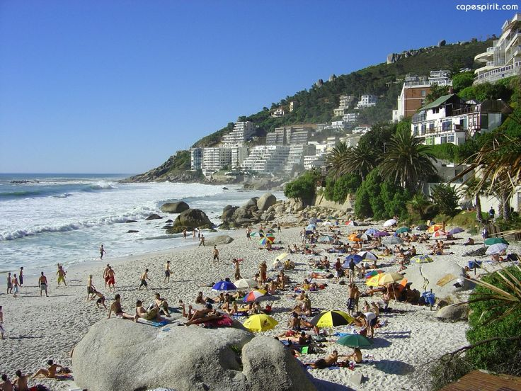 My most favorite beach in all the world, Clifton 3rd Beach.