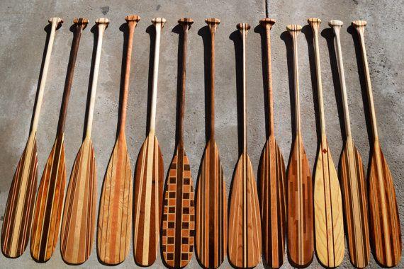 Handmade Custom Canoe Paddles https://www.etsy.com/listing/253046040/custom-handcrafted-wooden-canoe-paddles