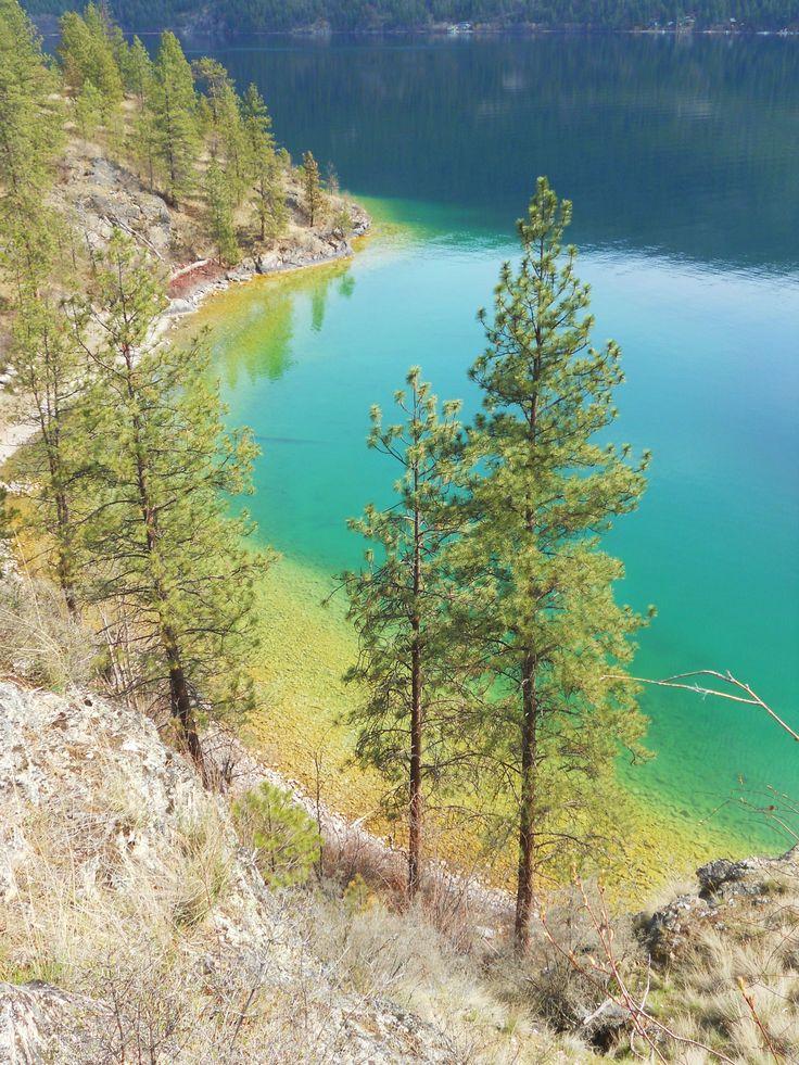 Hiking at Kalamalka Lake, Vernon, B.C. Canada