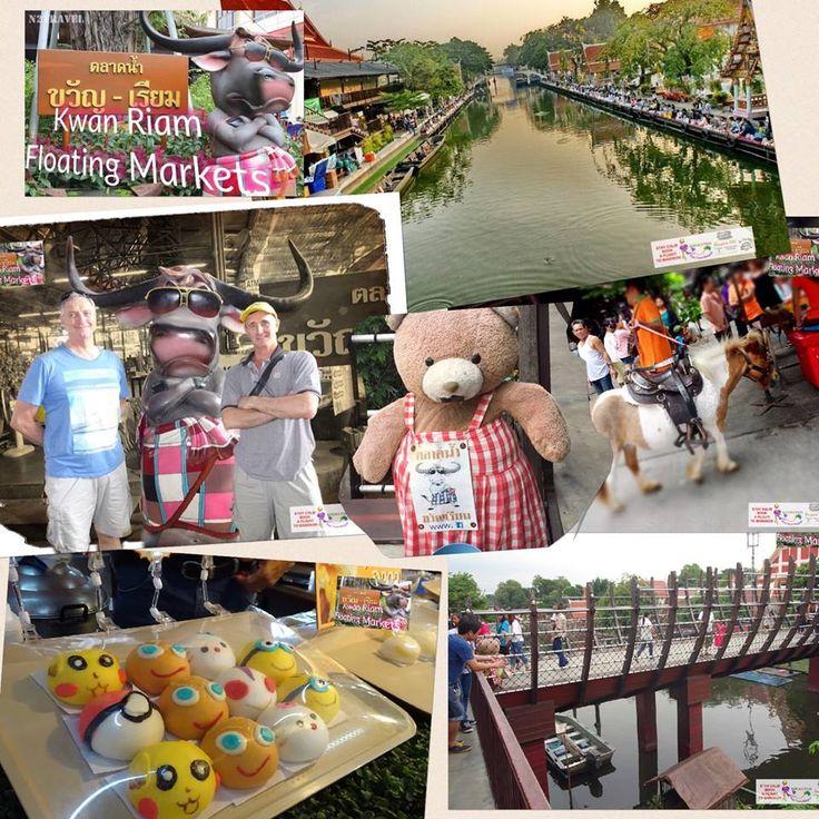 Kwan Riam Floating Markets - Bangkok SM Hub