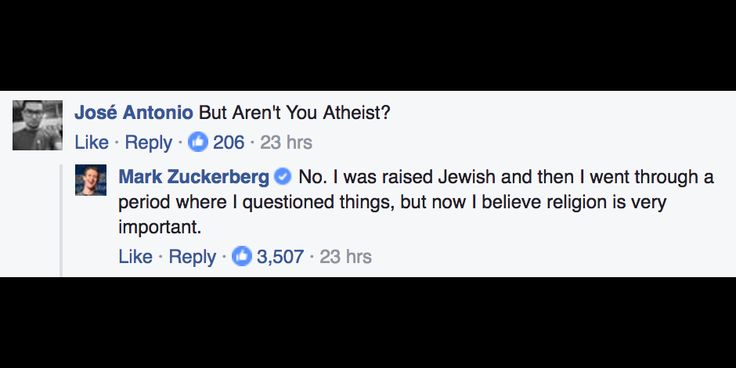 Facebook Founder Mark Zuckerberg Says He Is Not an Atheist
