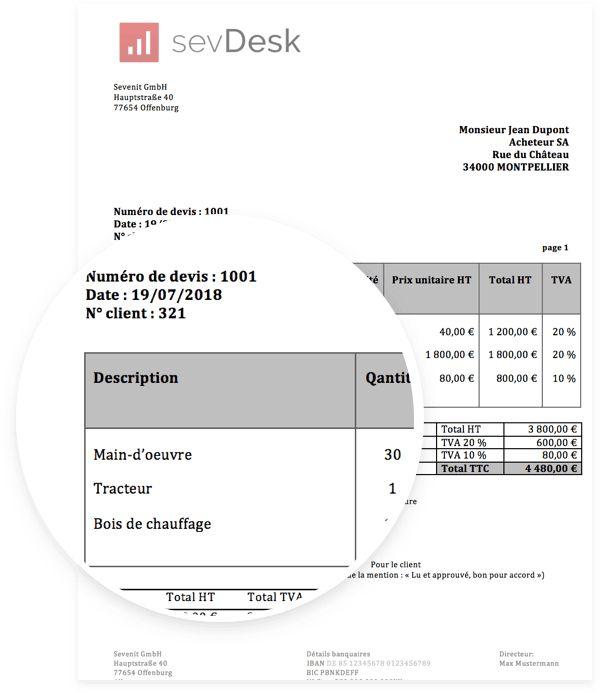 Modèle de devis pour Word et Excel - Téléchargement ...