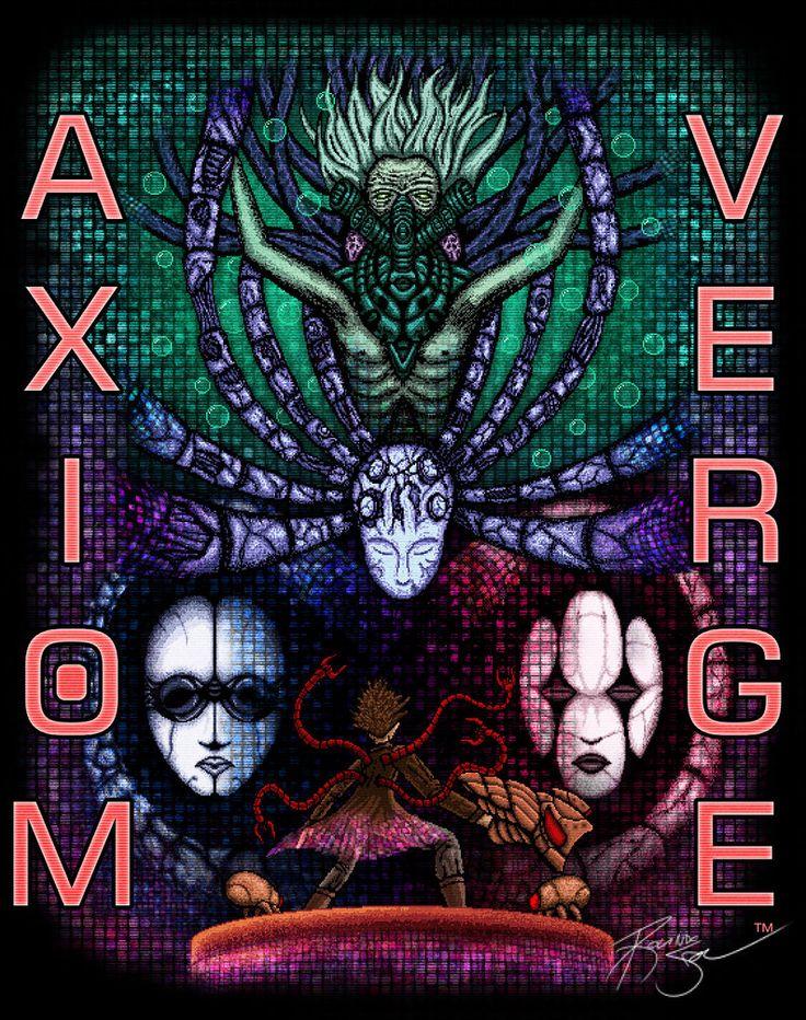 Axiom Verge design by deviantArt user SestrenNK.