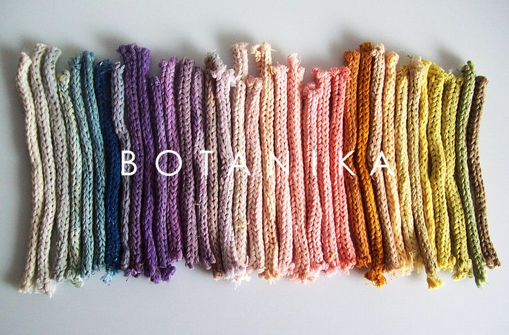naturally dyed rainbow  https://www.facebook.com/hellobotanika