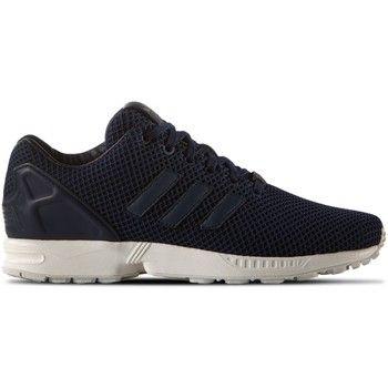 iconische adidas zx flux navy heren sneakers (Wit)