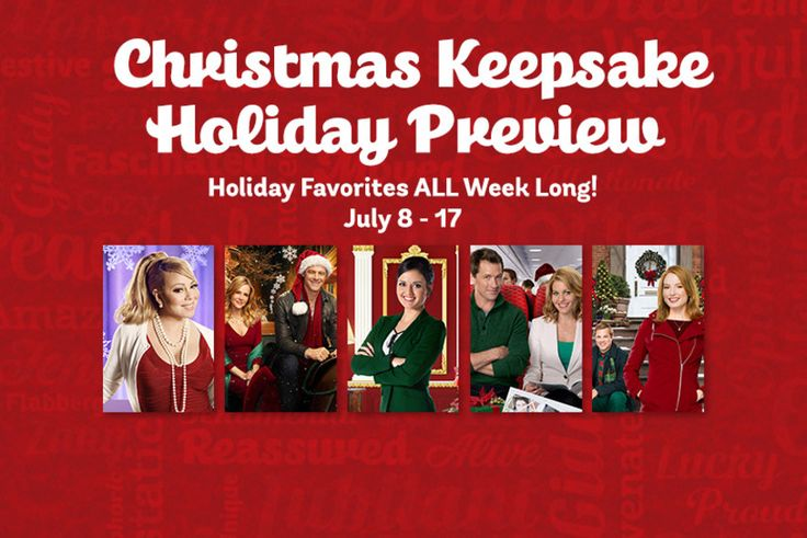 Hallmark Channel Christmas in July 2016 'Christmas Keepsake Holiday Preview,' July 8-17, 2016. I am a sucker for the Hallmark Channel's Christmas movies!