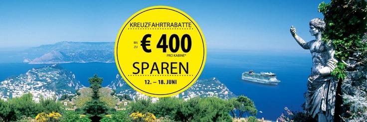 Norwegian Cruise Line: 7-Day Sale vom 12. bis 18. Juni 2012