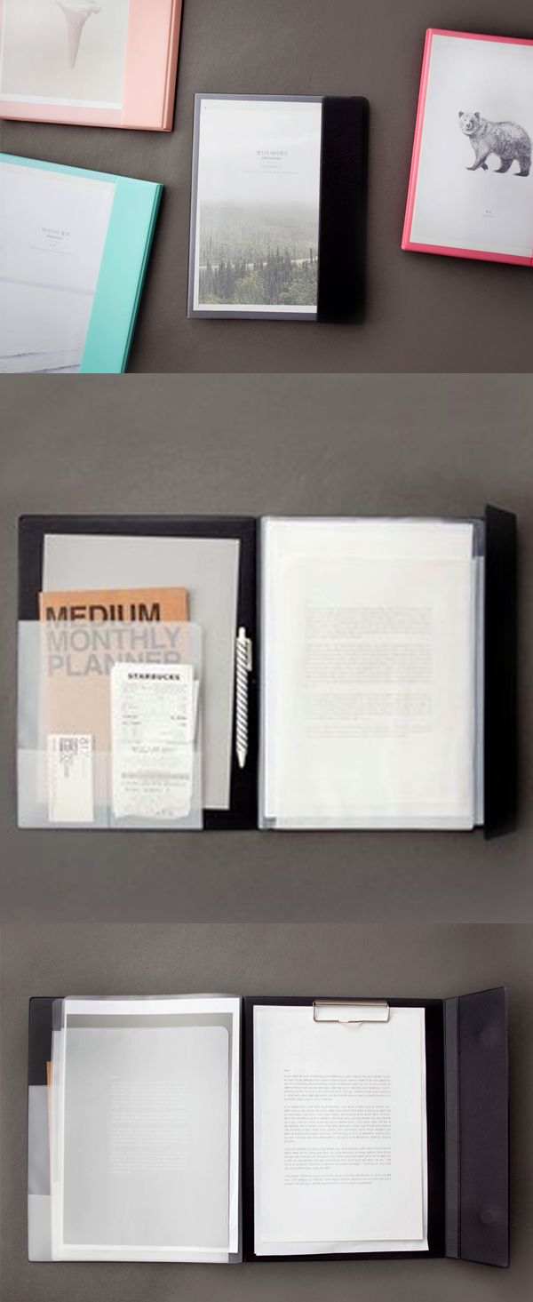 Keep all your documents together in the Multi Document File Holder. This sturdy and well protected holder provides solid base and keeps all your important documents in one place preventing from getting wrinkled or damaged!