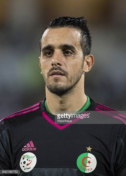 ASSELAH of Algeria during the Group B match between Senegal and Algeria at Stade Franceville on January 23 2017 in Franceville Gabon