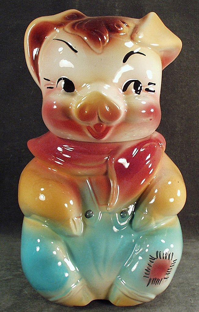 169 Best Vintage Cookie Jars Images On Pinterest Cat