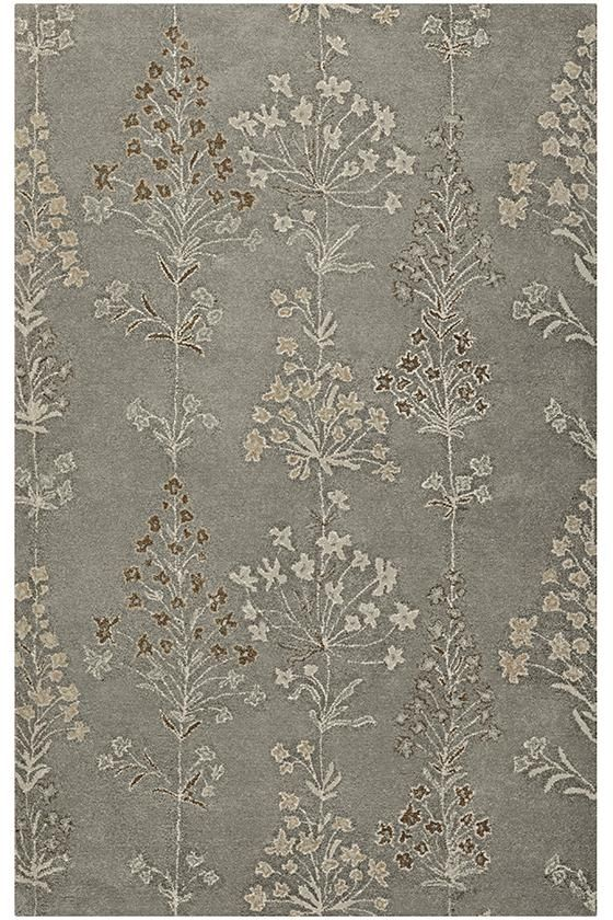 Garden Area Rug - Hand-tufted Rugs - Wool Blend Rugs - Blended Rugs - Transitional Rugs - Floral Rugs | HomeDecorators.com