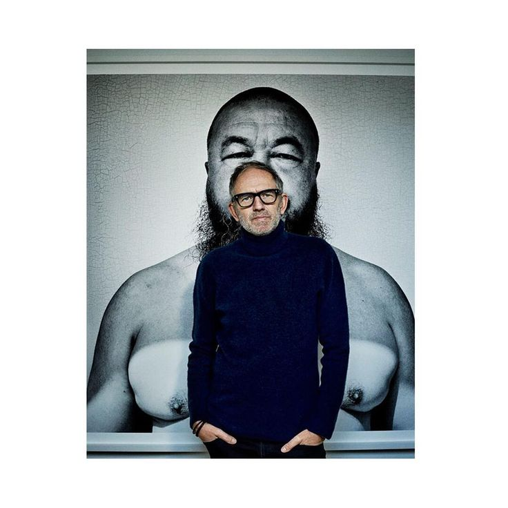SALLE PRIVÉE WORLD | Our latest ambassador Anton Corbijn in front of his own work: the iconic artist Ai Weiwei photographed for the series 'Inwards and Onwards' . Read more on www.salle-privee.com. #salleprivee #antoncorbijn #aiweiwei #photography #inspiration