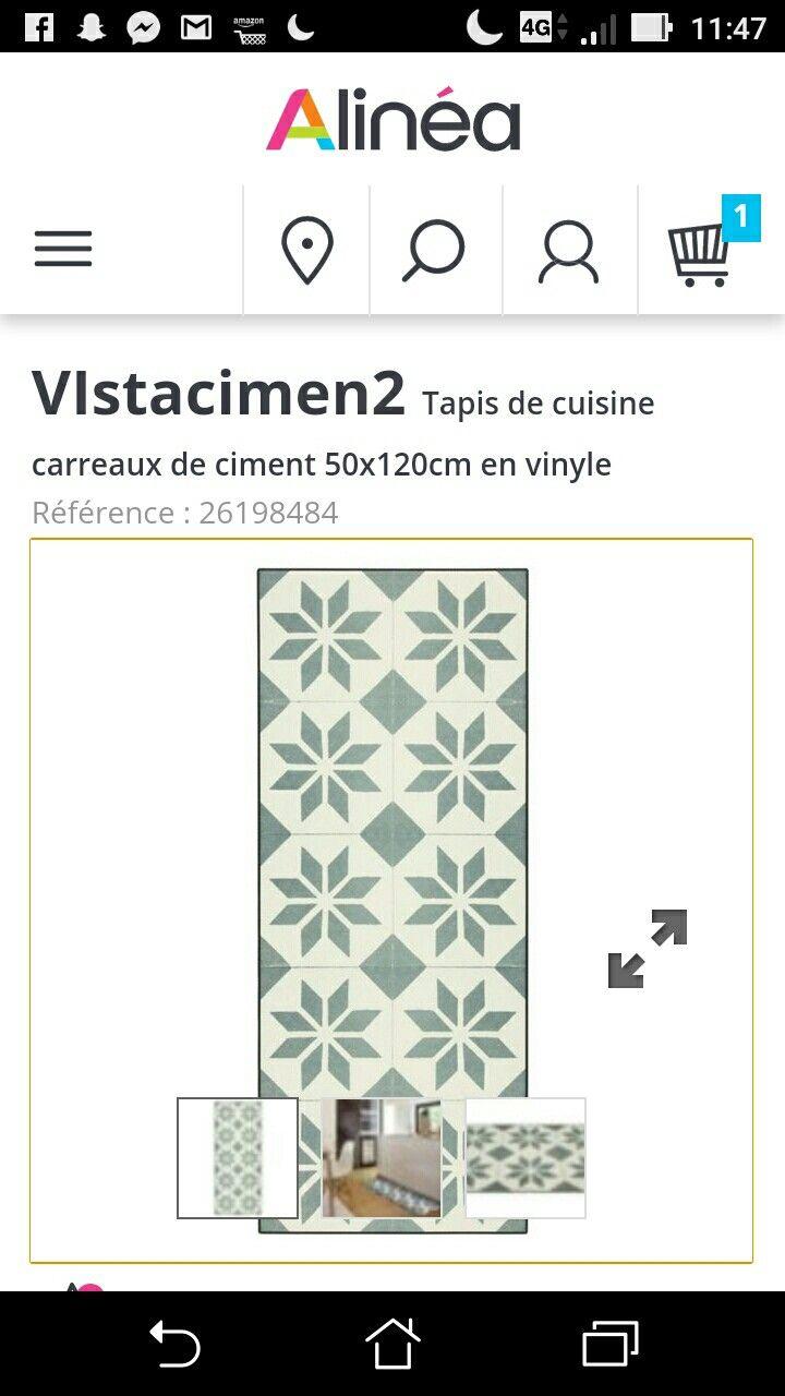 Tapis vinyle alinéa 29 euros