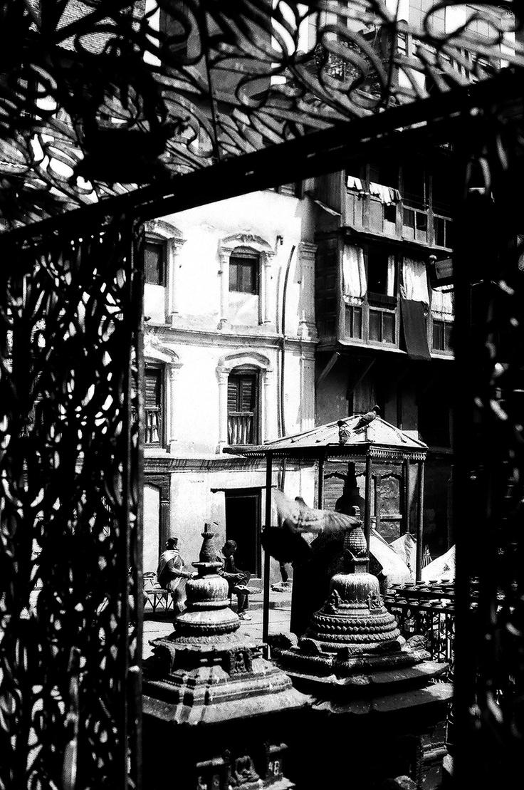 Janabaha - Kathmandu .. Shot with Asahi Pentax 1976 on ILFORD PAN 100