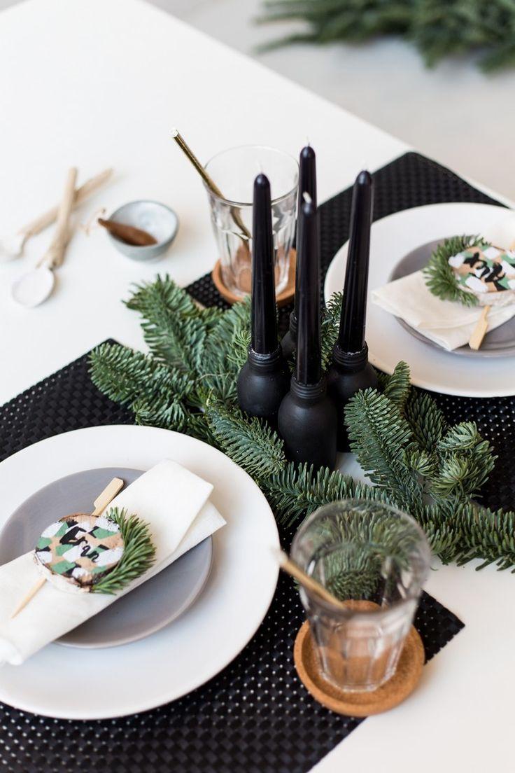 die besten 25 weihnachts platzkarten ideen auf pinterest. Black Bedroom Furniture Sets. Home Design Ideas
