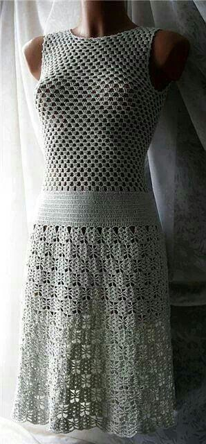 Really a stunning crocheted dress!!!
