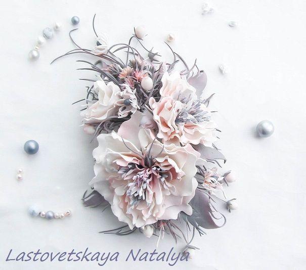 Цветы из фоамирана. Обсуждение на LiveInternet - Российский Сервис Онлайн-Дневников