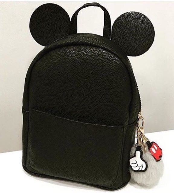 Primark Disney Mickey Mouse Black Backpack