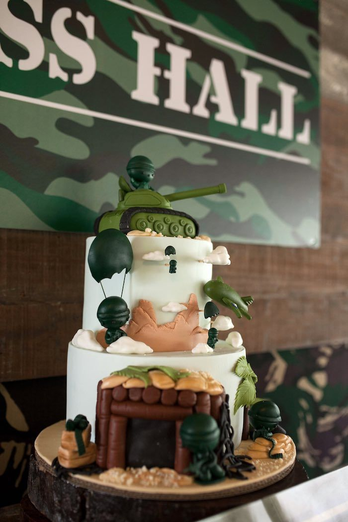 12 best Army Themed Birthday Party images on Pinterest Military