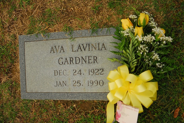 Ava gardner sunset memorial park smithfield nc just Sunset memory garden funeral home