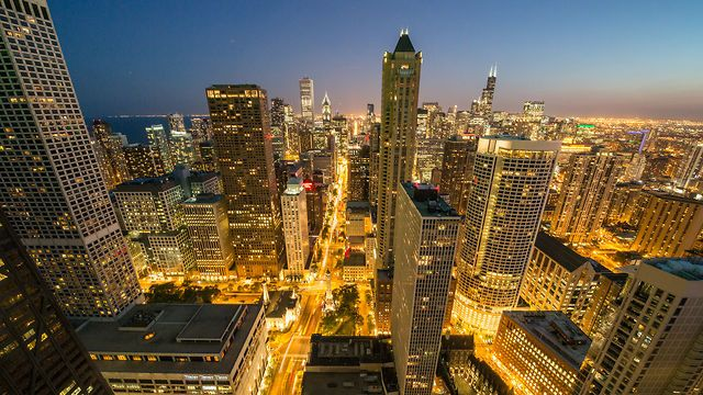 Cityscape Chicago by Eric Hines.