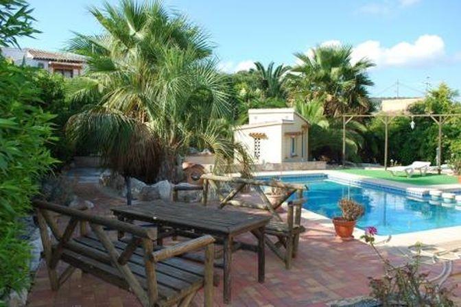 pool terrace  villa javea