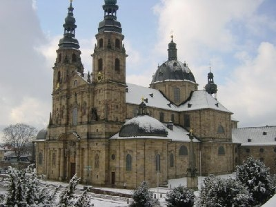 Cathedral at Fulda Germany - magnificent, historical and in my heart.