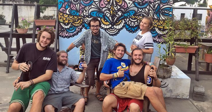 7 amigos del mundo que dicen que San Pedro Sula es más que peligro