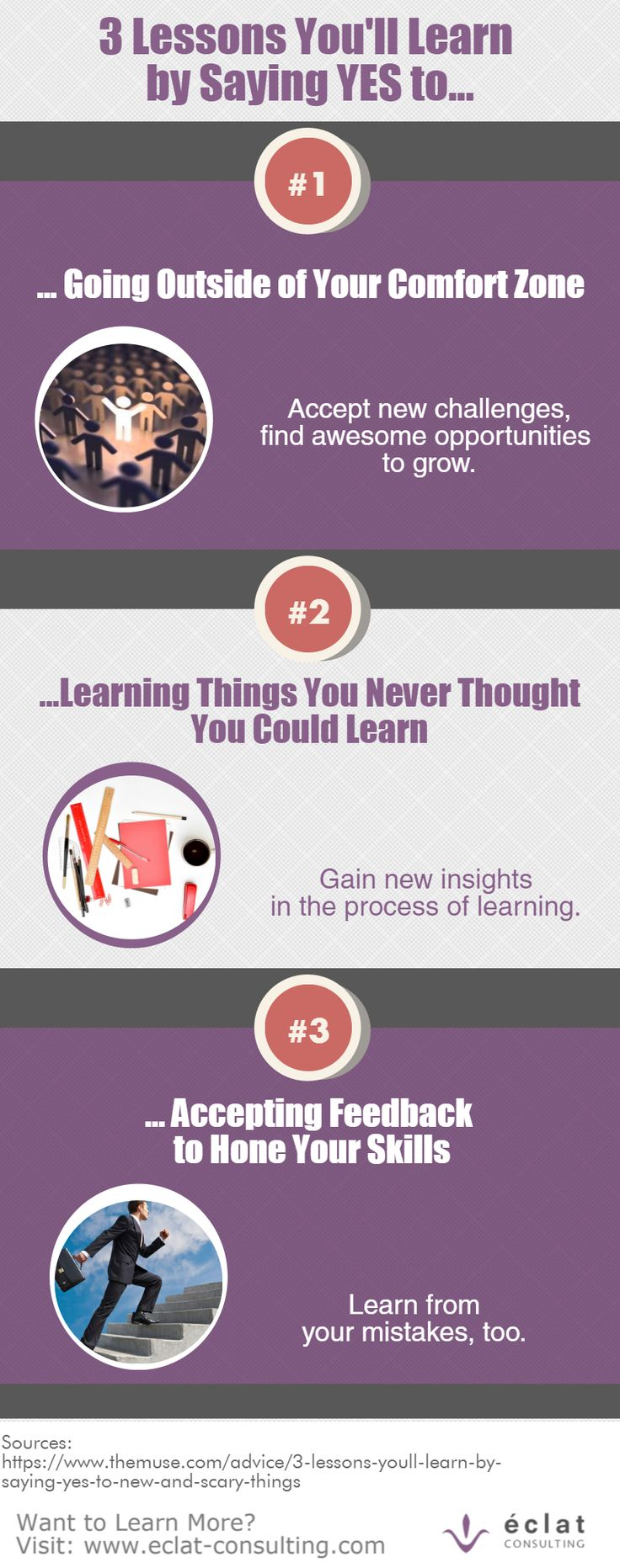 Say YES to these learning opportunities.