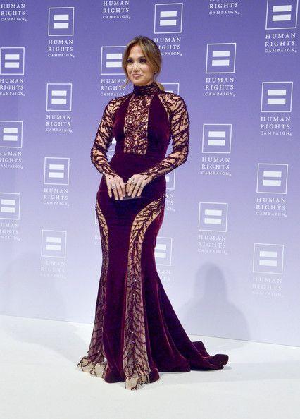 Jennifer Lopez Mermaid Gown