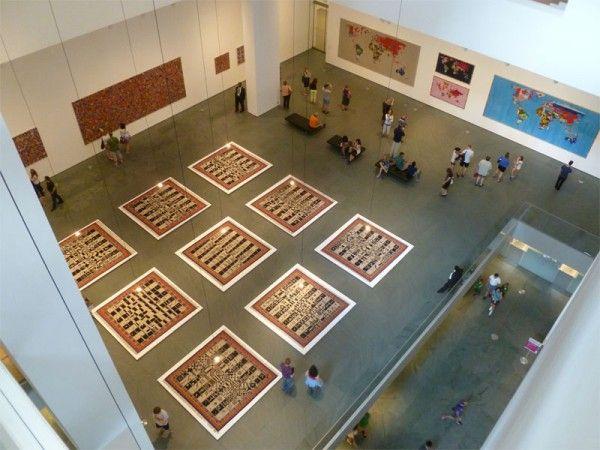 Alighiero Boetti Game Plan #MoMA review by Escape Into Life